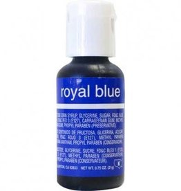 Royal Blue Chefmaster Liqua-gel 3/4 ounce