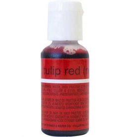 Tulip Red Chefmaster Liqua-gel 3/4 ounce