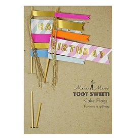 Meri Meri Meri Meri Toot Sweet Happy Birthday Cake Topper