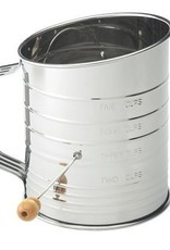 Harold Import Company Inc. Sifter 5 Cup Crank (Stainless steel)