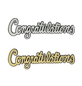 Decopac Congratulations Script Layon