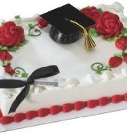 Decopac Graduation Cap W/Tassel-Black