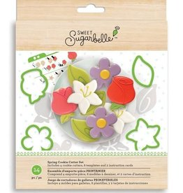American Crafts Sweet Sugarbelle Cookie Cutter Set (Spring)