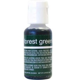 Forest Green Chefmaster Liqua-gel 3/4 ounce