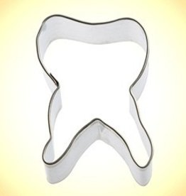 "Foose Tooth Cookie Cutter (2.5"")"