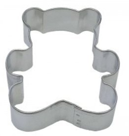 "R and M Teddy Bear Cookie Cutter (3"")"