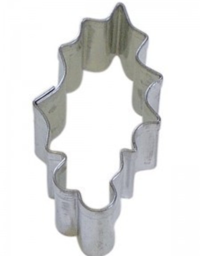 R and M Mini Holly Cookie Cutter