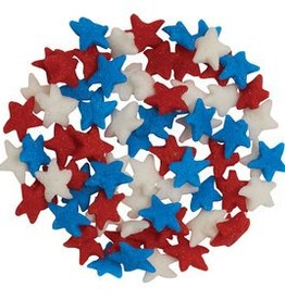 Decopac Mini Star Quins (Red, White, Blue)