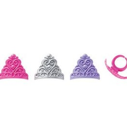 Deco Pack Princess Crown Cupcake Rings