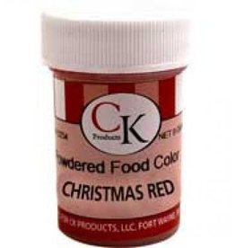 Christmas Red Powder Food Coloring (9 Grams)