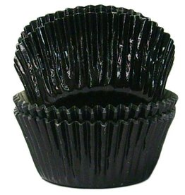 Black Baking Cups (Mini Foil)