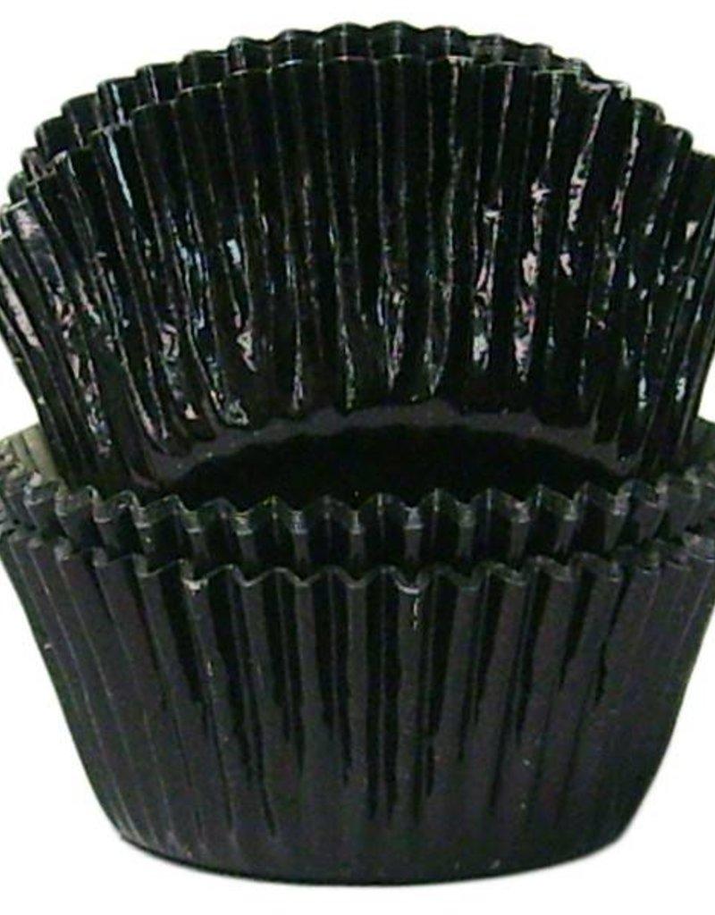 Black Baking Cups (Mini Foil)
