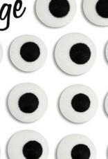 """CK Royal Icing Eyes (1/2"""") White"""