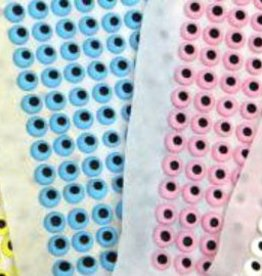 CK Royal Icing Eyes 3/8 inch (pink)