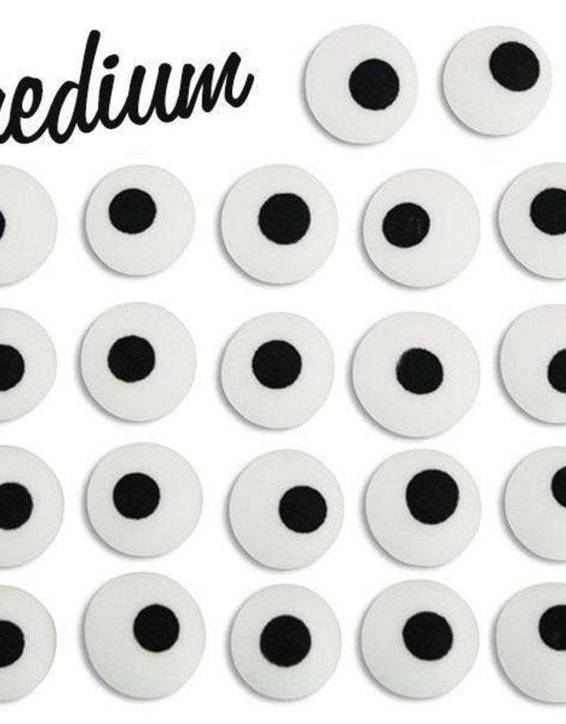 CK Royal Icing Eyes 3/8 inch (white)