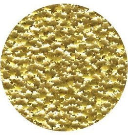 Shaped Edible Glitter (Gold Stars)