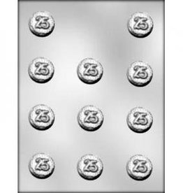 "CK Products 25 Mint Chocolate Mold (1-3/8"")"