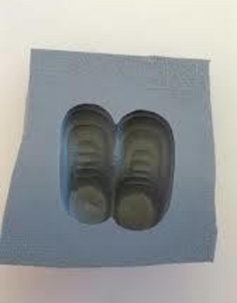 Voorhees Baby Booties Mint Mold
