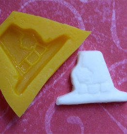 Pilgrim Hat Mint Mold