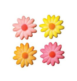 Lucks Daisies Bright Sugar Dec On (Medium) 6/pkg