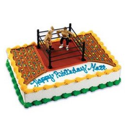 Deco Pack Decopac Wrestling Cake Topper