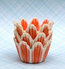 CK Flower Baking Cups (Orange)