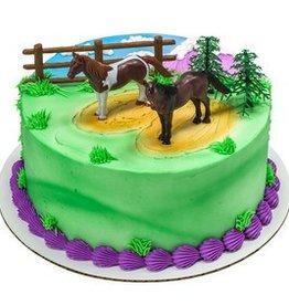 Deco Pack Horses Cake Topper