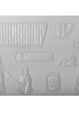 CK Products Nativity Scene Chocolate Mold