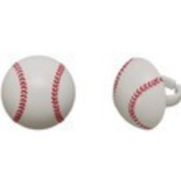 Decopac Baseball Rings (12 per pkg)