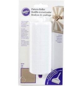 Wilton Pattern Roller (Fabric/Burlap)