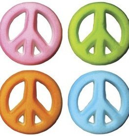 Lucks Peace Sign Assortment Sugar Dec Ons