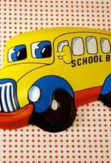 School Bus Cake Topper