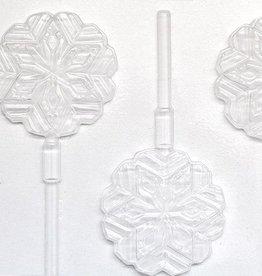CK Snowflake Sucker Hard Candy Mold