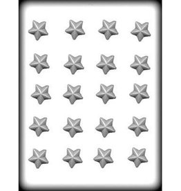 """CK Products Star Faceted Hard Candy Mold (1"""")"""