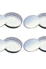 "Fox Run Tartlett Pans (4"" Set of 4)"