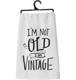 Primitives By Kathy Tea/Dish Towel (I'm Vintage)