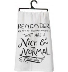 Primitives By Kathy Tea/Dish Towel (Nice & Normal)