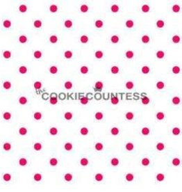 Cookie Countess The Cookie Countess Stencil (Small Dots)