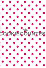 236 The Cookie Countess Stencil (Tiny Dots)