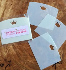 Cookie Countess The Cookie Countess Stencil Scraper (3 pack)