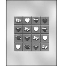 CK Products Valentine Break Up Bar Chocolate Mold
