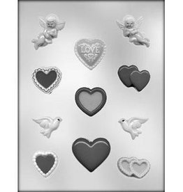 CK Products Valentine Assorted Heart Chocolate Mold