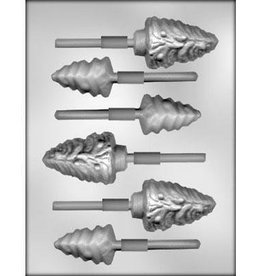 CK Products Tree Assortment Chocolate Sucker Mold