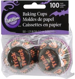 Wilton Trick or Treat Mini Baking Cups