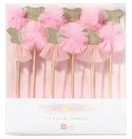 Talking Tables Tutu And Pom Pom Picks 12 Pack