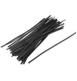 Staples Twist Ties (Black)