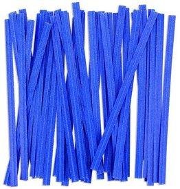 Staples Twist Ties (Blue)