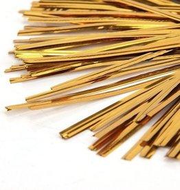 Uline Twist Ties (Gold)