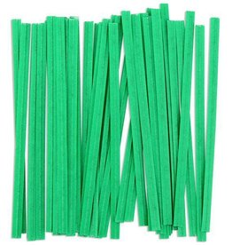 Staples Twist Ties (Green)