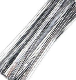 Uline Twist Ties (Silver)